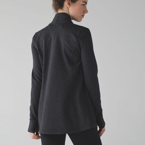 Lululemon NWT jacket charocoal grey coast wrap 10